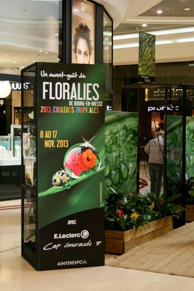 panneau imprimé Floralies